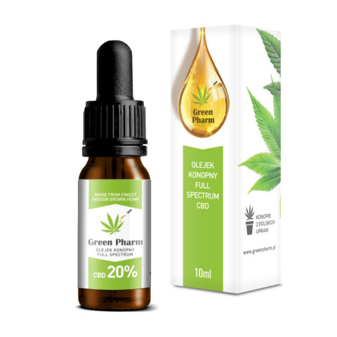 Olejek konopny CBD 20% Full Spectrum 10ml